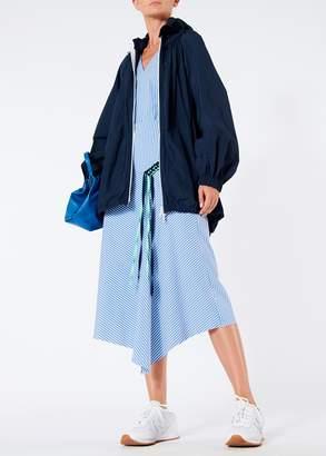 Tibi Kaia Stripe Lanyard Skirt
