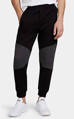 Isaora Men's Neoprene Jogger Pants - Black