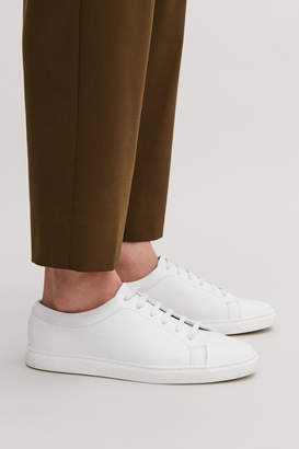 Cos Slim-sole lace-up sneakers