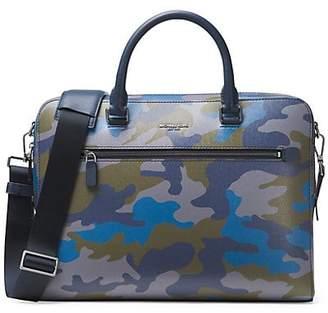 Michael Kors Camouflage Zip Brief Case