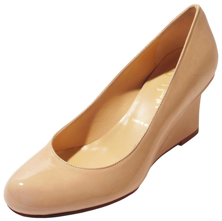 Butter Shoes Wedgy in Nude Patent