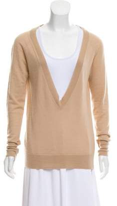 Alexander McQueen Cashmere Long Sleeve Sweater