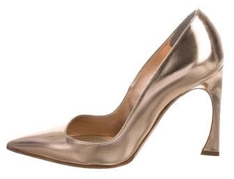 Christian Dior Metallic Songe Pumps
