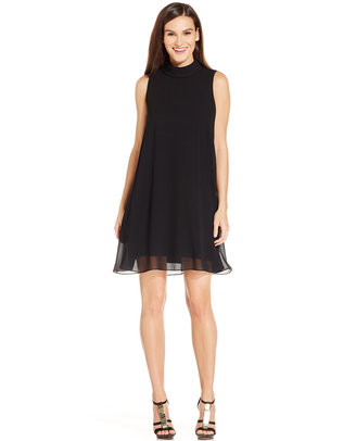 Vince Camuto Sleeveless Trapeze Dress $148 thestylecure.com
