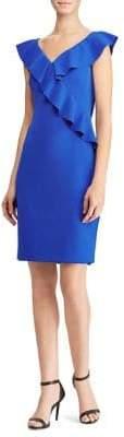 Lauren Ralph Lauren Ruffled Lace Dress