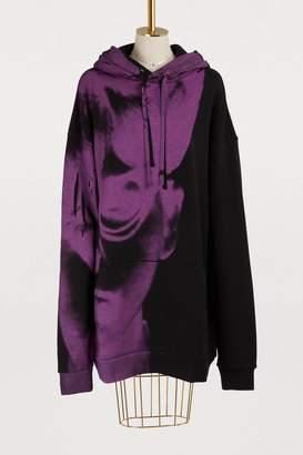 Maison Margiela Hoodied dress
