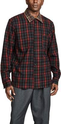 Marni Reversible Overcheck Flannel Shirt
