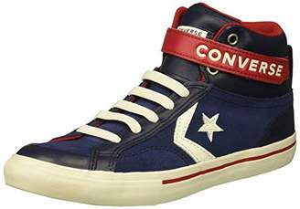 Converse Boys' Pro Blaze Strap Suede High Top Sneaker