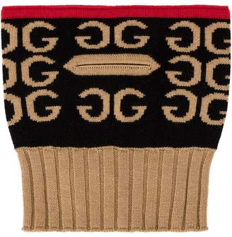 Gucci ribbed neck warmer