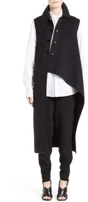 Marni (マルニ) - Marni Wool, Alpaca & Cashmere Asymmetrical Vest