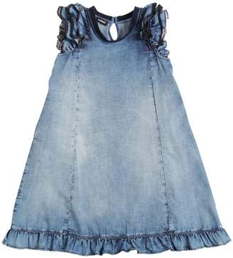 Diesel Denim Effect Light Cotton Dress