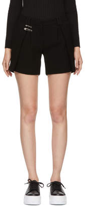Versus Black Safety Pin Shorts