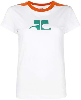 Courreges (クレージュ) - Courrèges ロゴプリント Tシャツ