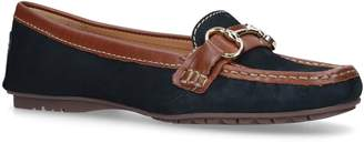 Carvela Cooper Suede and Leather Loafers