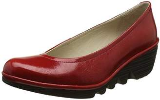 Fly London Women Wedge Shoes, Red (Red 078), 39 EU