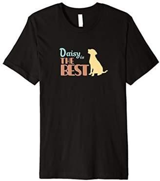 Daisy the Dog Personalized Cute Gift T-Shirt Womens & Girls