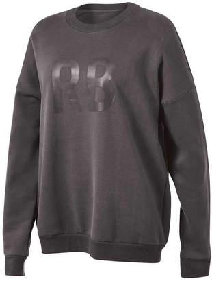 Running Bare Womens Heritage Oversized Crewneck Sweatshirt