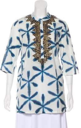 Figue Studded Tunic Top