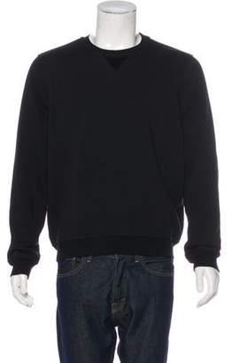 ATM Anthony Thomas Melillo Fleece-Trimmed Sweatshirt