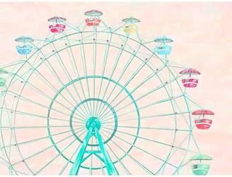 Oopsy Daisy Fine Art For Kids Confetti Sky by Karin Grow Paper Print