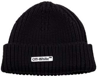 Off-White Off White Logo Beanie
