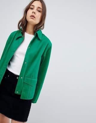Asos Washed Cotton Jacket