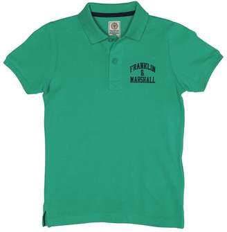 Franklin & Marshall Boys Core Logo Polo Bright Green