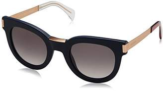 Tommy Hilfiger Women's Th1379s Rectangular Sunglasses