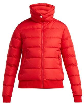 Perfect Moment - Super Star Down And Feather Filled Ski Jacket - Womens - Red Multi
