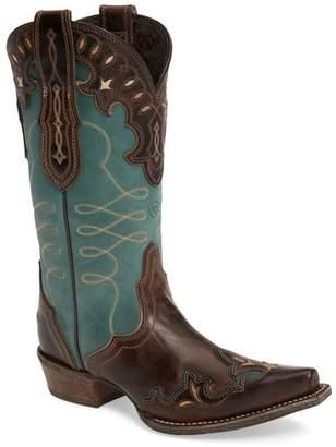 Ariat Zealous Wingtip Western Boot