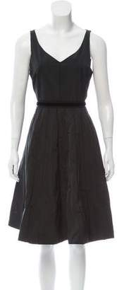 Marc Jacobs Pleated Knee-Length Dress
