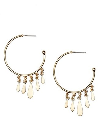 Women's Jules Smith 'Clary' Hoop Earrings $55 thestylecure.com