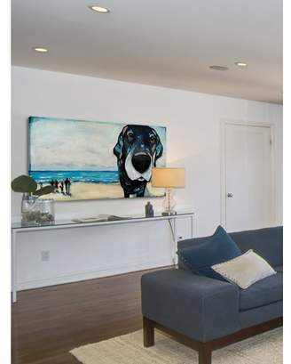 Beachcrest Home 'Macdaddy' Painting Print on Wrapped Canvas