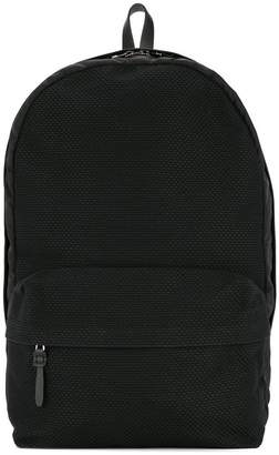 Cabas contrast panel backpack