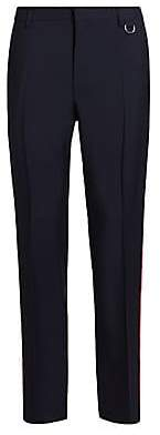 Valentino Men's Side-Stripe Wool& Mohair Trousers