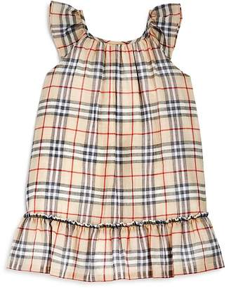 Burberry Girls' Tania Drop Waist Polo Dress - Baby