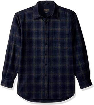 Pendleton Men's Long Sleeve Button Front Classic Lodge Shirt