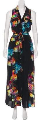 Yumi Kim Silk Printed Dress