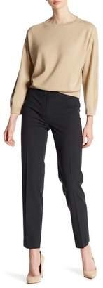 Lafayette 148 New York Pleated Slim Wool Blend Pants