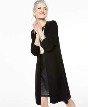 Charter Club Cashmere Duster Cardigan, Created for Macy's