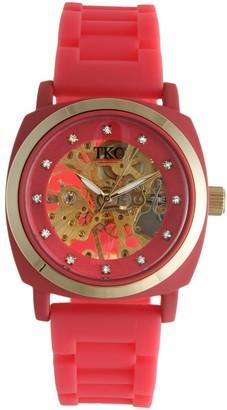 Tko Orlogi TKO Orlogi Women's Milano Mechanical Skeleton Watch