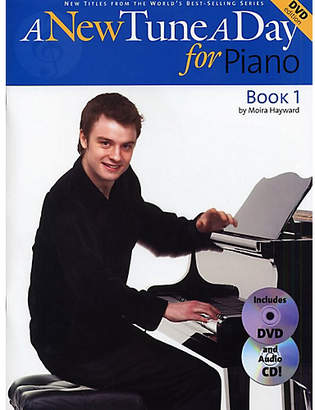 DAY Birger et Mikkelsen Boston Music A New Tune a For Piano Book 1 CD/DVD Edition