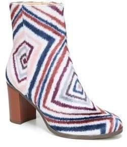 Dr. Scholl's Darcia Almond Toe Velvet Booties