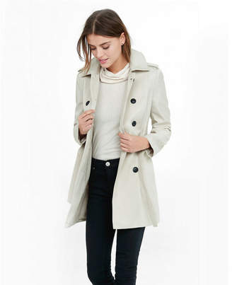 Express classic trench coat with trapunto stitch sash $128 thestylecure.com