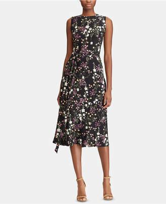 American Living Floral-Print Midi Dress
