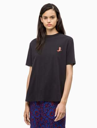 Calvin Klein Relaxed Fit Western Badge T-shirt