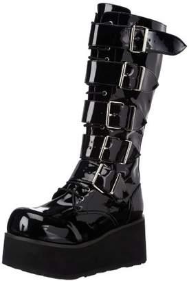Pleaser USA Demonia by Men's Trashville-518 Goth Boot