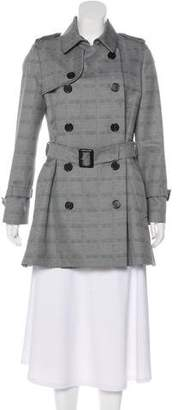 Christian Dior Wool-Blend Trench Coat