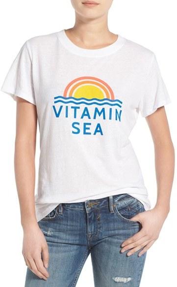 Women's Sub_Urban Riot 'Vitamin Sea' Graphic Tee