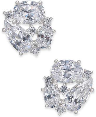 Macy's Danori Openwork Crystal Stud Earrings, Created for